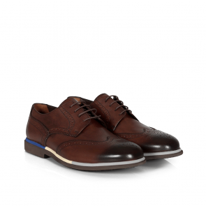 Мъжки обувки от естествена кожа SG-7208 - 2