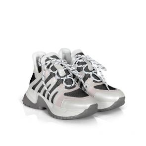 Дамски спортни обувки от естествена кожа ILV-992 - 2