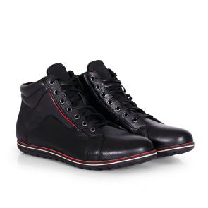 Мъжки обувки от естествена кожа и набук CP-2374V - 2