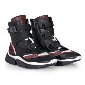 Дамски спортни обувки от естествена кожа N55-1B - 2