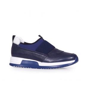 Мъжки обувки от естествена кожа и стреч TGR-116-02