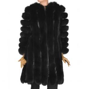 Дамско палто от естествена кожа DMD-1727