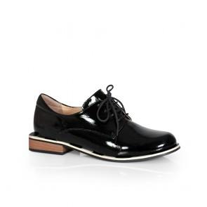 Дамски обувки от естествен лак ILV-2232-20