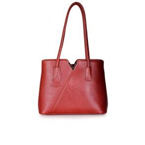 Дамска чанта от естествена кож