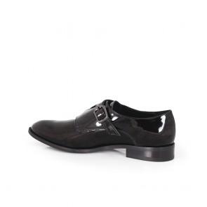 Дамски обувки от естествен лак CP-2976 - 2
