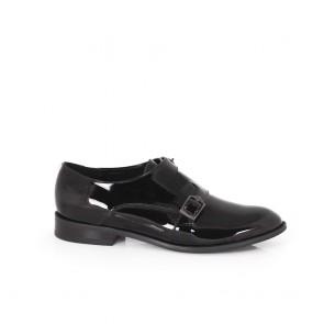 Дамски обувки от естествен лак CP-2976