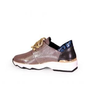 Дамски спортни обувки от естествен кожа  - 2