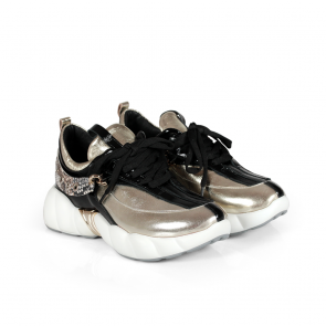 Дамски спортни обувки от начупен лак ILV-296-1 - 2
