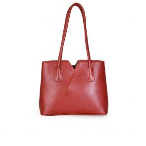 Дамска чанта от естествена кож - 2