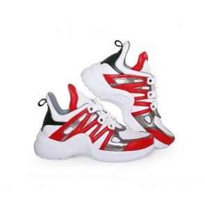 Дамски спортни обувки от естествена кожа - 2