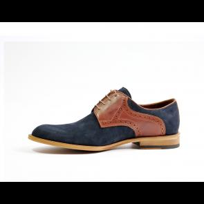 Мъжки ежедневни обувки от естествен набук - 2