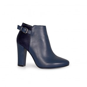 Дамски обувки с естествена кожа и велур