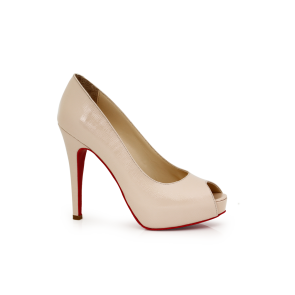 Дамски обувки от естествен лак Т1-369-01
