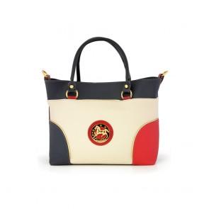 Дамска чанта от естествена кожа и еко кожа