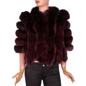 Дамско палто от естествена кожа CK-1725