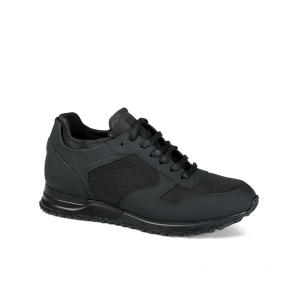Мъжки обувки от естествена матирана кожа BRC-126114