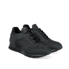 Мъжки обувки от естествена матирана кожа BRC-126114 - 2