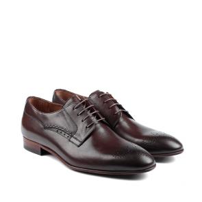 Мъжки обувки от естествена кожа BRC-407 - 2