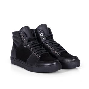 Мъжки обувки от естествена кожа BRC-49317 - 2
