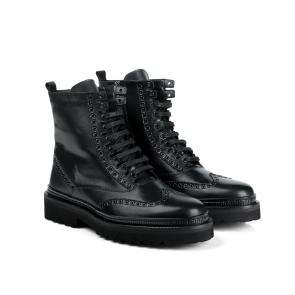 Мъжки обувки от естествена кожа  BRC-5114 - 2