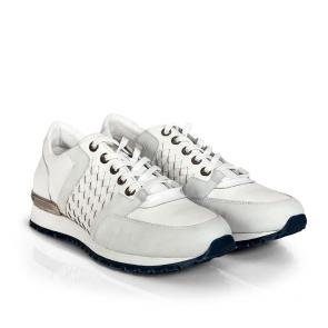 Мъжки обувки от естествена кожа BRC-96178 - 2