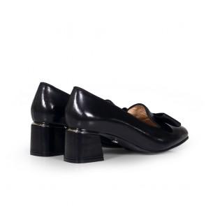 Дамски обувки от естествена кожа BV-1204 - 2
