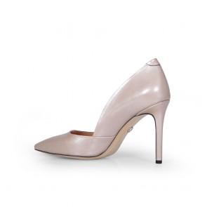 Дамски обувки от естествена кожа BV-2585 - 2