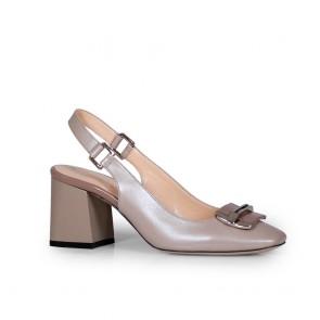 Дамски обувки от естествена кожа BV-2636