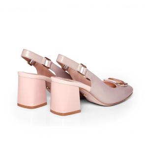 Дамски обувки от естествена кожа BV-2636 - 2