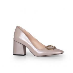 Дамски обувки от естествена кожа BV-2662