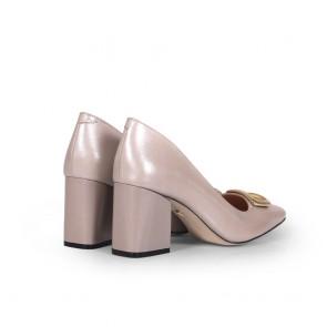 Дамски обувки от естествена кожа BV-2662 - 2