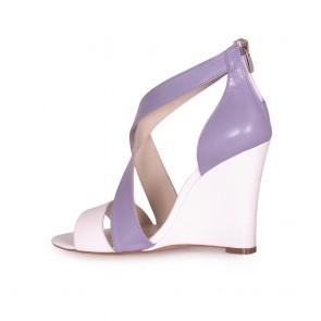 Дамски сандали от естествена кожа  - 2