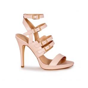 Дамски елегантни сандали от естествена кожа