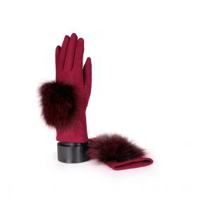 Дамски ръкавици от текстил