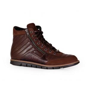 Мъжки обувки от естествена кожа и набук
