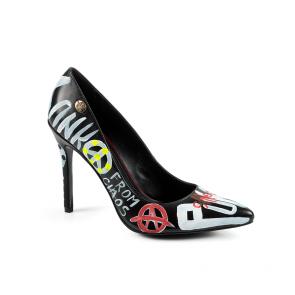 Дамски обувки от естествена кожа CP-2249/1