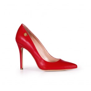 Дамски eлегантни обувки от естествена кожа