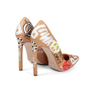 Дамски обувки от естествена кожа CP-2764/1 - 2