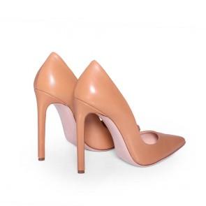 Дамски обувки от естествена кожа CP-2764 - 2