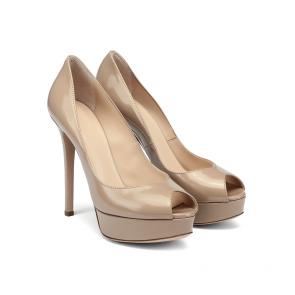 Дамски обувки от естествен лак CP-29442 - 2