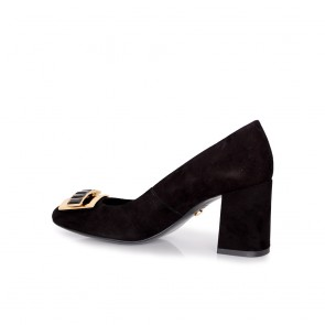 Дамски обувки от естествeн велур - 2