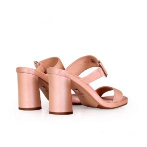 Дамски чехли от естествена кожа - 2