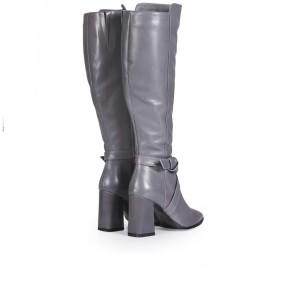 Дамски ботуши от естествена кожа - 2