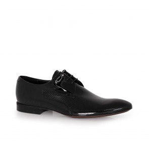 Мъжки официални обувки естествен лак