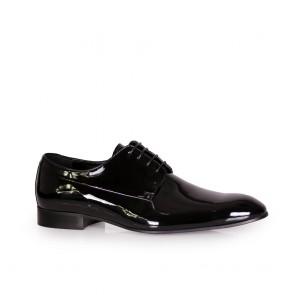 Мъжки обувки от естествен лак CP-4955