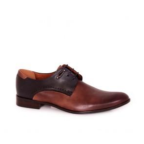 Мъжки официални обувки от естествена кожа