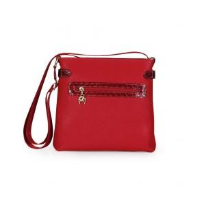 Дамска чанта от естествена и еко кожа - 2