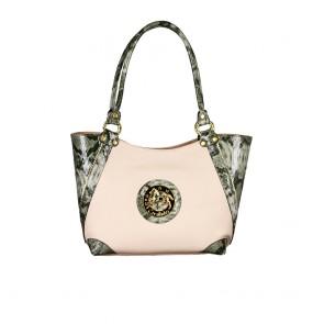 Дамска чанта от еко и естествена кожа
