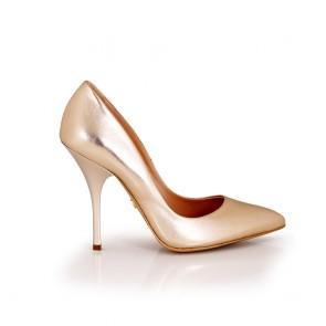 Дамски елегантни обувки от естествена кожa