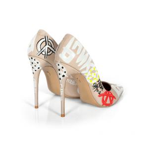 Дамски обувки от естествена кожа DV-035-02-1 - 2